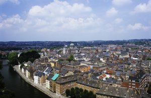 Vista de Namur desde la citadelle