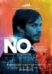 El actor mexicano Gael García Bernal, en el papel del publicista que dirigió la campaña por el No en C