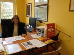 María González Encinar, directora del Instituto Cervantes de Bruselas