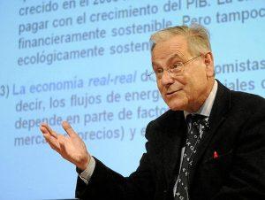 El profesor Joan Martínez Alier, coautor del Atlas Global de Justicia Ambiental