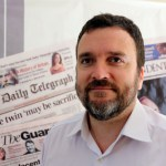 Brian Reyes, director del Gibraltar Chronicle