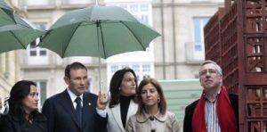 Izaskun Bilbao, eurodiputada del PNV, en la inauguración de La Brújula de Medianoche.