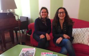 Isabel Gómez y Ana Aguilar, fundadores de Inside your Home