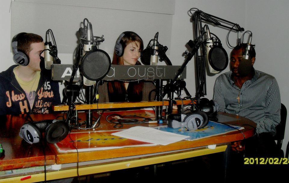 Nicolas et Margaux avec Regis Bobo