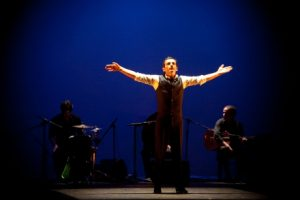 El bailaor Antonio Martínez en una de sus actuaciones