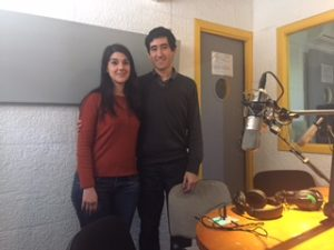 Cecilia Real y Pablo Nieva, en Radio Alma