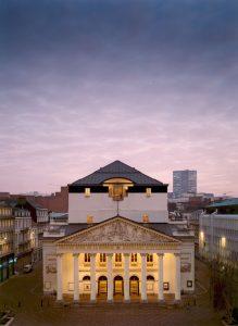 Edificio de La Monnaie. Fotografía de Johan Jacobs.