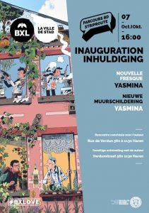 """Inauguración delnuevo mural """"Yasmina"""""""