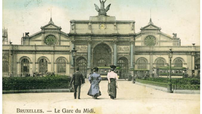 La segunda Gare du Midi (coll. belfius-Académie royale de belgique © sPRb-ARb )