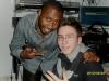 Maxime en compagnie de Regis Bobo